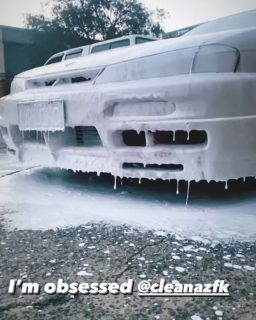 We are obsessed too @14.loko 🙈❄️❤️  #cleanazfk #cleanaf #jdmgram #crazycleanculture #nissan #s14 #jdm #jdmgirlssociety #jdmgirls #crazyclean #cleanfreaks #snowfoam #snowfoamwash #snowfoamsunday #nissansilvia #aussiemade #carcleaning #carwash #prewash #detailing #schassis #detailingaddicts #cleanaf