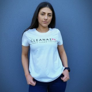 Wear it loud n proud if you're bout that Crazy 😝 Clean 💦 Culture 💙  ➡️ Her FK Tee has been selling out in most sizes so don't forget to chuck one in your cart before summer hits 🛒  PS. Thank you all for 3.6k today 😍🙏🏼  #cleanaz #tee #tees #tshirt #cleanaf #crazycleanculture #cleanculture #cargirls #carchicks #apparel #cargirlsofinstagram #cargirlculture #customapparel #newapparel #basicapparel #apparelbrand #teamapparel #cargirlsdoitbetter #cargramm #automotiveapparel #cargirl #hummpay #afterpay #buynowpaylater