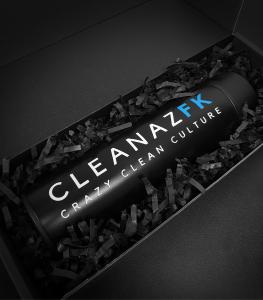 cleanazfk digital drink bottle