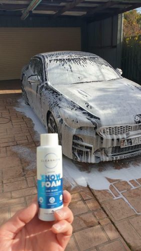 SUPER SNOW FOAM photo review